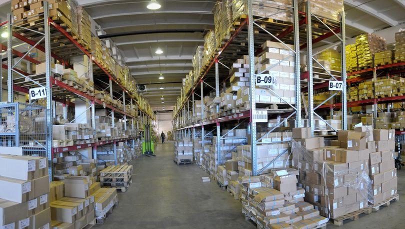 Объем поглощения складов достиг максимума