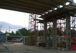 Строительство путепровода на линии Выборг – Каменногорск остановило кафе