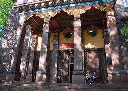 Интерьер буддийского храма в Петербурге отреставрируют