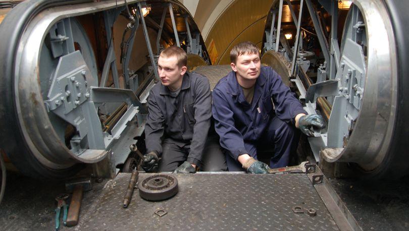 ремонт эскалатора