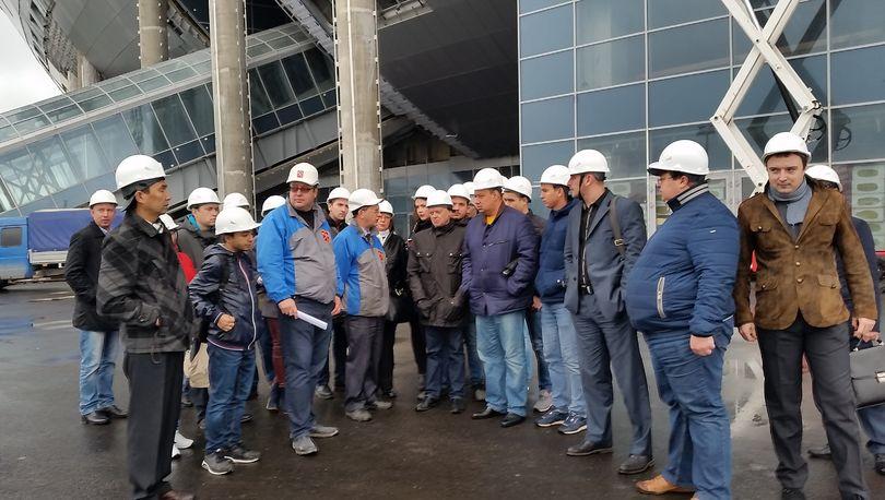 Специалисты рассказали о ходе строительства футбольного стадиона на Крестовском острове