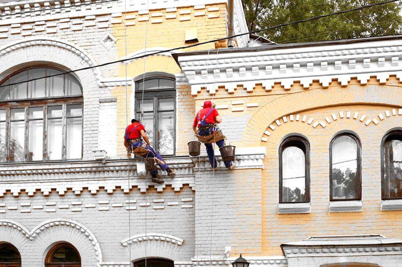 фасады ремонт