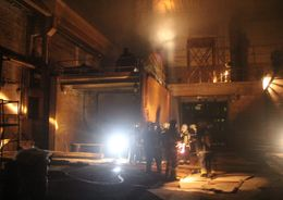 На Витебском проспекте горел «Механический завод»