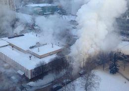 На Васильевском 673 здания попали в зону прорыва теплосети