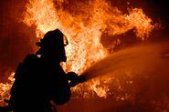 Гончарная перекрыта из-за пожара