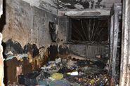 Женщина погибла в пожаре в Адмиралтейском районе