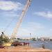 Компания «ВАД» забила первую сваю будущего моста через Шексну в Череповце