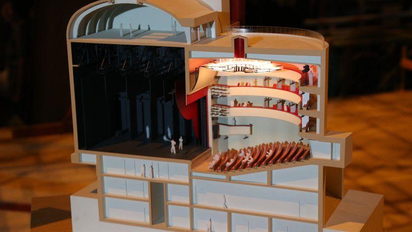 Модель детского театра