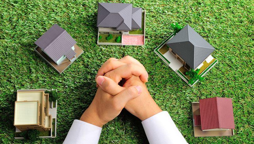 земля и домики