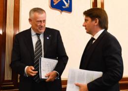 Дрозденко и Барановский