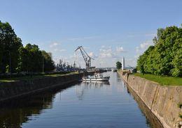 В Кронштадте реставрируют канал Петра Великого