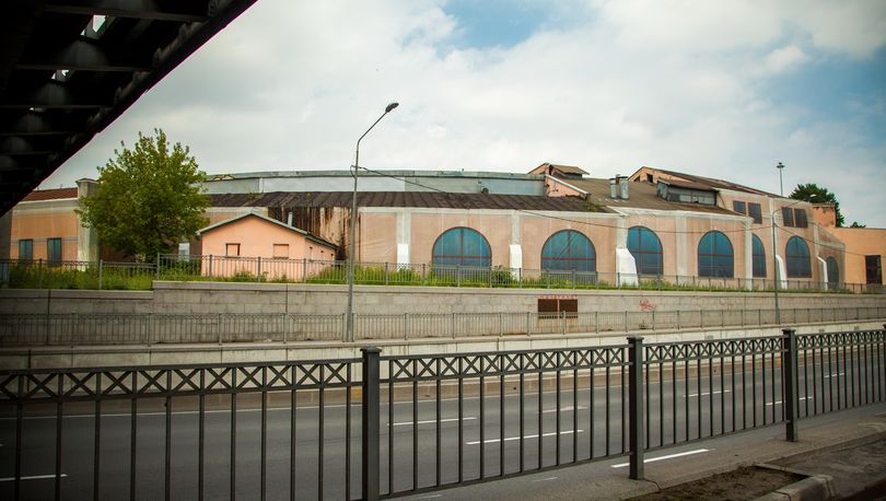 Здание круглого депо