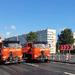 В Петербурге открыто рабочее движение по Лиговскому путепроводу