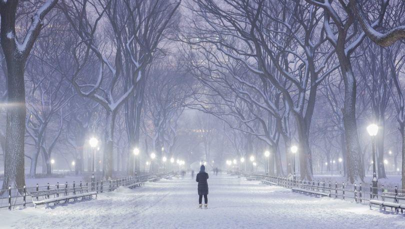 В выходные Петербург накроет снегопадом