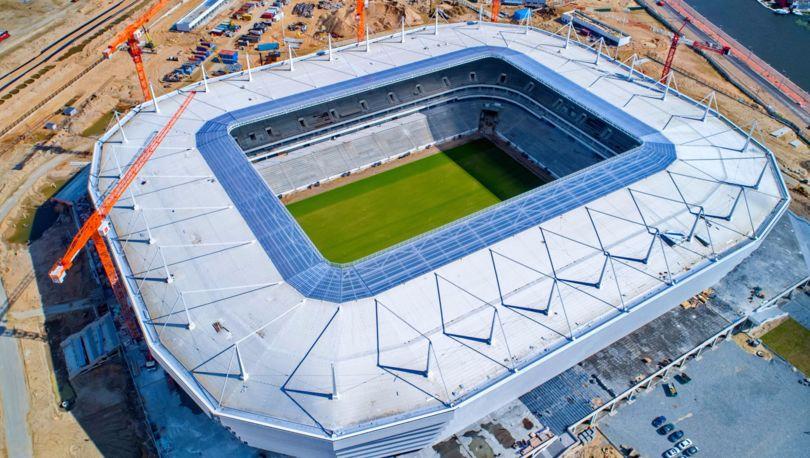 ФИФА: никаких рисков срыва сроков возведения стадиона ЧМ-2018 вКалининграде нет