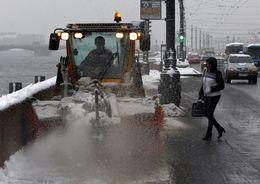 За сутки с улиц Петербурга вывезли 32 тыс. кубометров снега