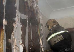 При пожаре в коммуналке на Почтамской ул. погибла женщина