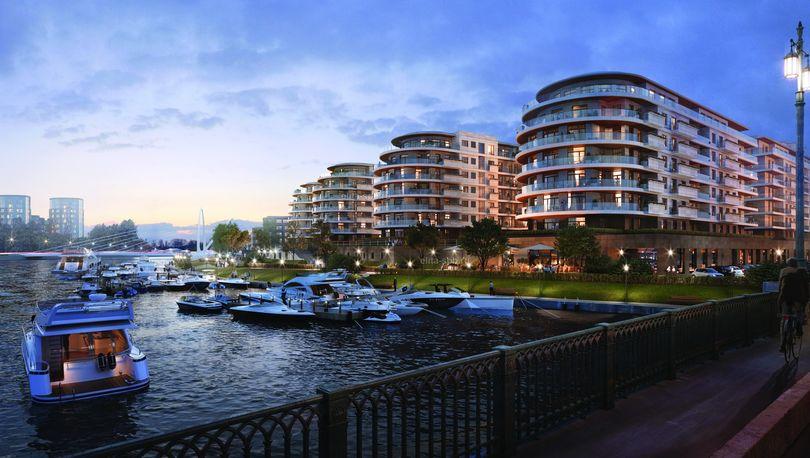 374 млн рублей  - цена самой дорогой квартиры в петербургской новостройке