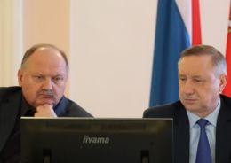 Беглов и Бондаренко