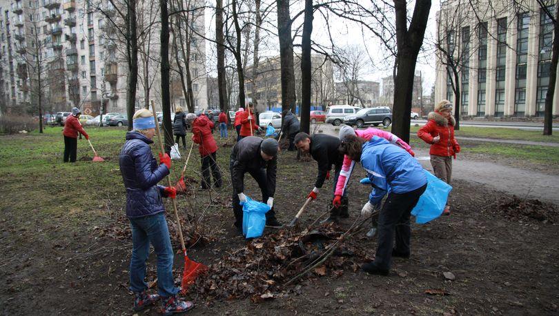 В  Петербурге стартует месячник по благоустройству