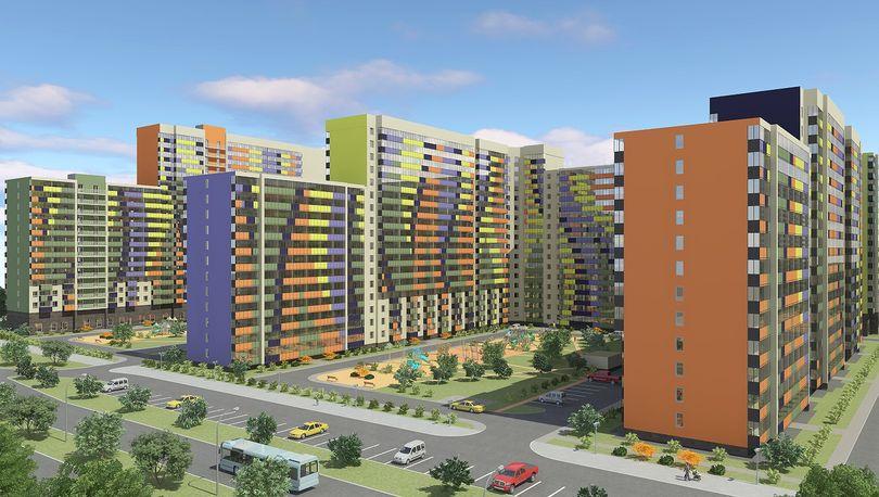 Макет жилого комплекса «Краски лета»