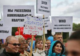 Владельцы петербургских хостелов  и мини-отелей провели митинг