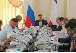 Марат Хуснуллин провел совещание по вопросам строительства инфраструктуры в Крыму
