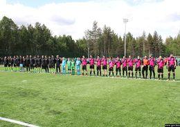 В карельской Костомукше открыли новый стадион