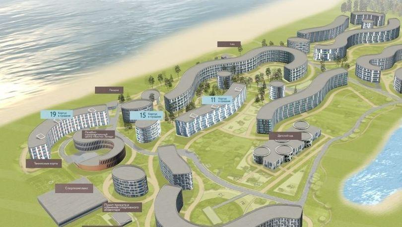План жилого квартала