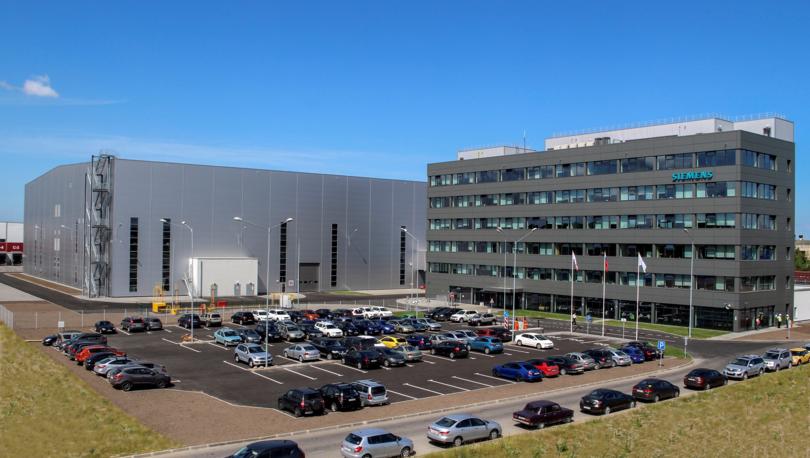 Завод «Сименс» увеличил территорию в парке Greenstate