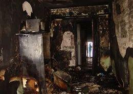 Мужчина погиб в пожаре на Новаторов