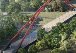 Пешеходный мост через Яузу построят в районе Ростокино
