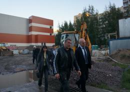 Для школьного бассейна в Невском районе найдут нового подрядчика