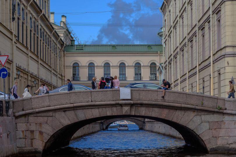 первый зимний мост