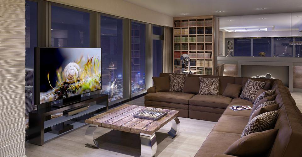 Интерьер гостиной: дизайн и фото оформления