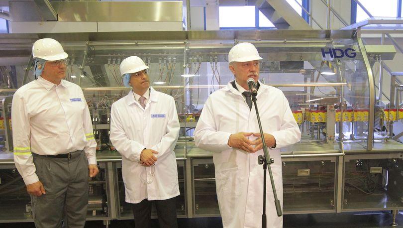 Компания «Ригли» запустила новую производственную линию