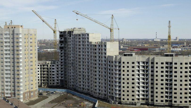 Более 602 тыс. новых квартир построили в РФ за 8 месяцев