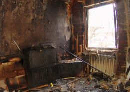 На Трамвайном из-за пожара эвакуировали жильцов