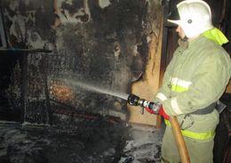 В пожаре на Руставели погибла женщина