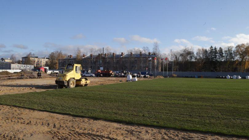 Полтавченко проверил строительство спортивных площадок кЧМ
