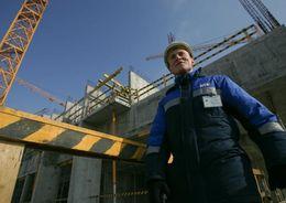 Объем строительных работ в Петербурге за I полугодие снизился на 3,7%