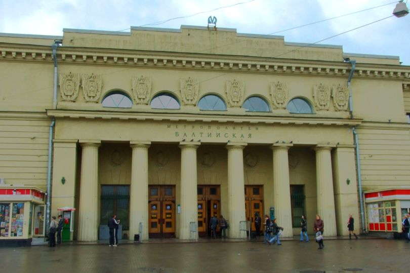 метро Балтийская