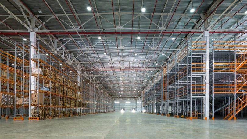 Объем ввода складов в регионах оказался минимальным