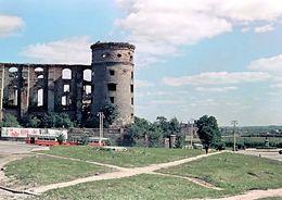 Спасать руины Королевского замка в Калининграде будут москвичи