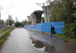 Сети для Поклонногорского путепровода переустроят за 240 млн рублей
