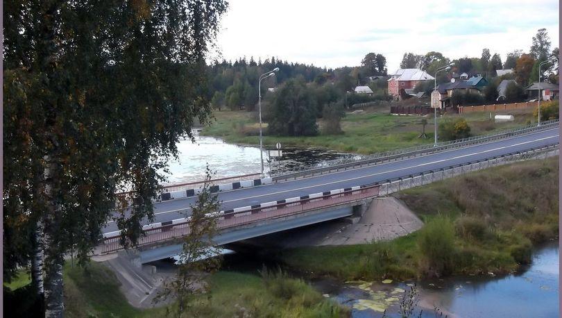 мост Оредеж