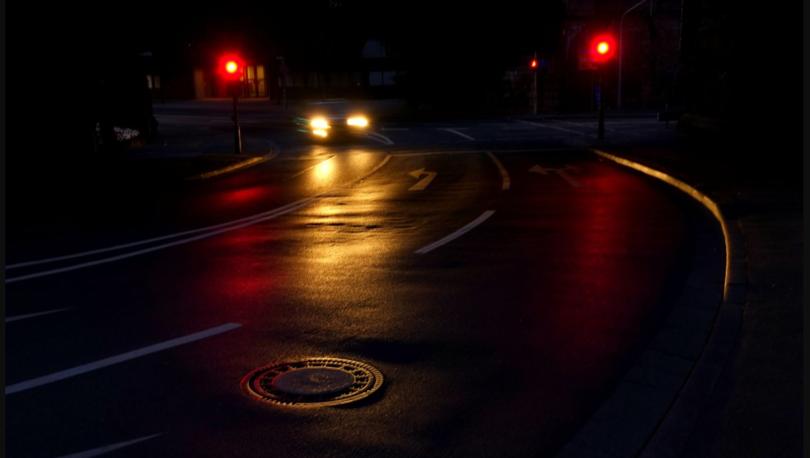 неосвещенная дорога