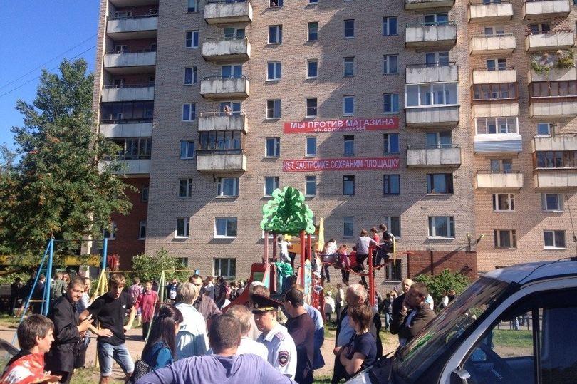 Защитники детской площадки на Науки, 44 написали Путину