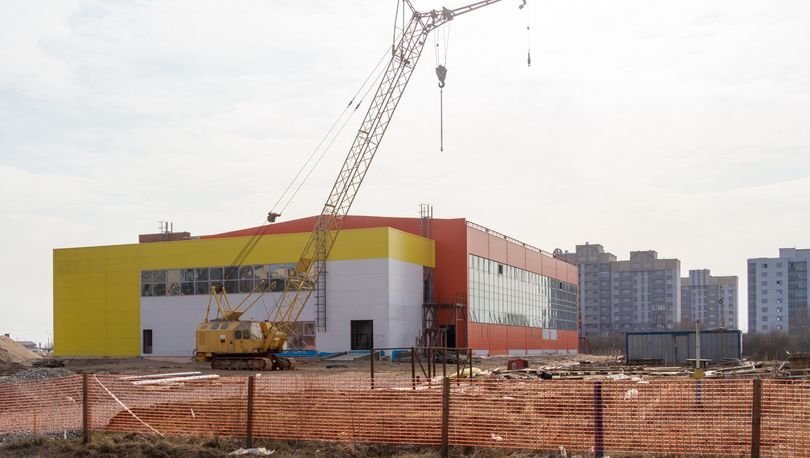Удорожанием строительства спорткомплекса в Новгороде заинтересовались  следователи