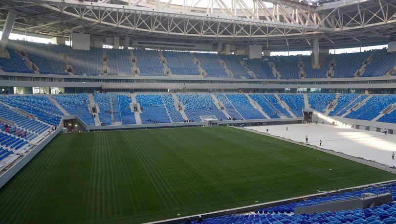 Комиссия ФИФА вновь осматривает «Зенит  - Арену»
